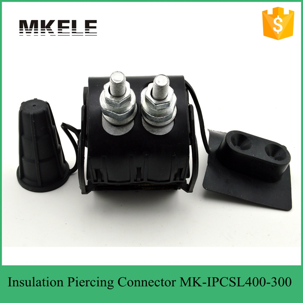 High Voltage Cable Connection Insulator : Wire electrical high power insulation piercing connector